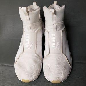 Puma White Fierce Core Training Sneakers